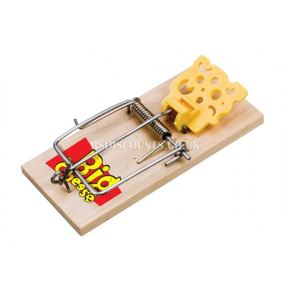 STV100 STV Baited RTU Mouse Trap - TWINPACK The Big Cheese