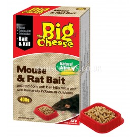 STV118 STV Natural Active Mouse Killer 400g The Big Cheese