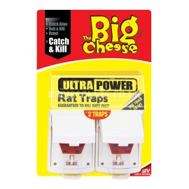 STV149 STV Ultra Power Rat Traps.Pack of 2,The Big Cheese,