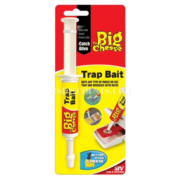 STV163 STV Trap Bait -- 15g The Big Cheese