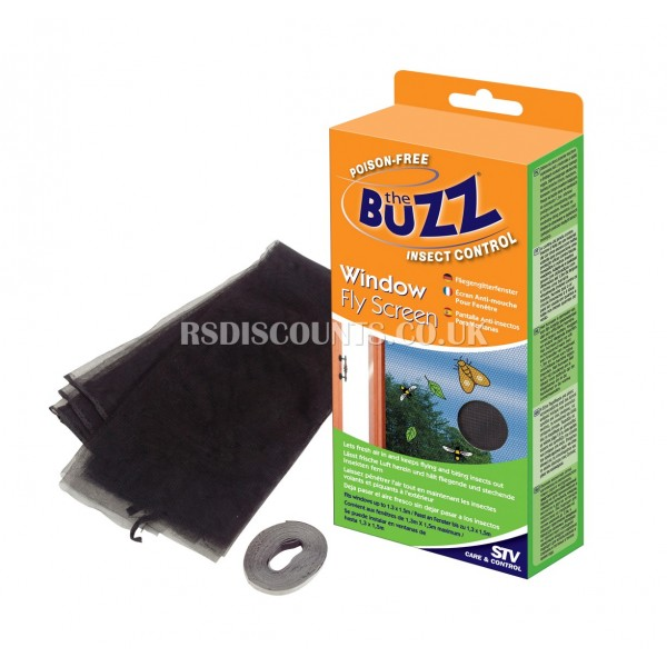 STV229 STV Window Fly Screen, Buzz