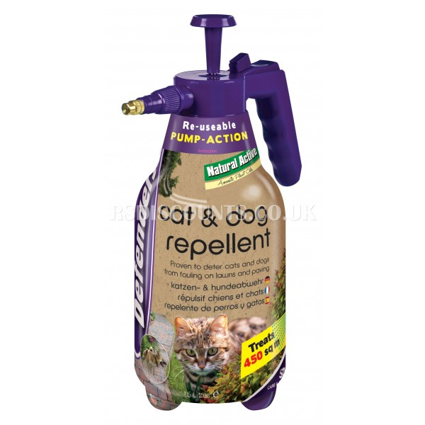 STV624 STV Cat & Dog Repellent Spray  1.5l DEFENDERS