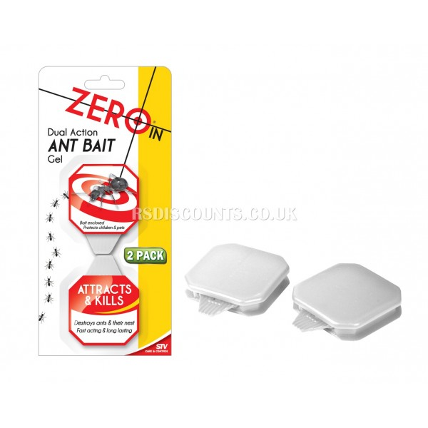 ZER965 STV Duak Action Ant Bait Gel ZERO IN