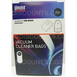 UNI231 - Vacuum Cleaner Bags - Aeg, Delta, Electrolux, Melissa, The Boss