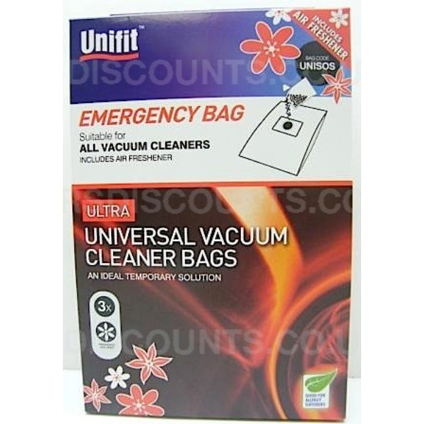 Vacuum Cleaner Bags - Universal Emergency SOS Bag (All Brands)