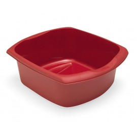 Addis Roasted Red 9.5Ltr Large Rectangular Washing Up Bowl