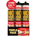 UniBond No More Nails Interior Triple & Single Pack Cartridges
