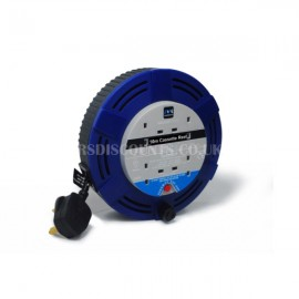 Masterplug 4 Gang 10m Extension Cable Reel
