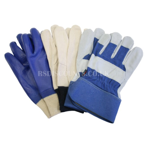 Town & Country Mens Gloves Bonus Triple Pack