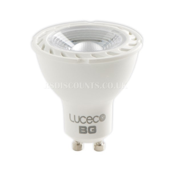 GU10 5w LED Lamp Non Dimmable in Warm, Natural or Cool White