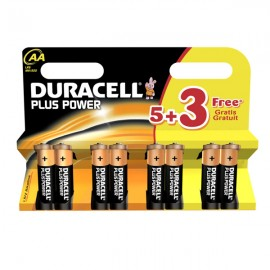Duracell Plus Power  5+3 Free - AA or AAA Batteries