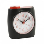 Black and Red Quartz Alarm Clock.