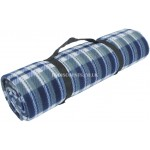 CW052 - Yellowstone Blue Check Waterproof Travel Rug
