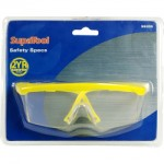 Yellow Framed Safety Specs That Come With 2 Year Guarantee