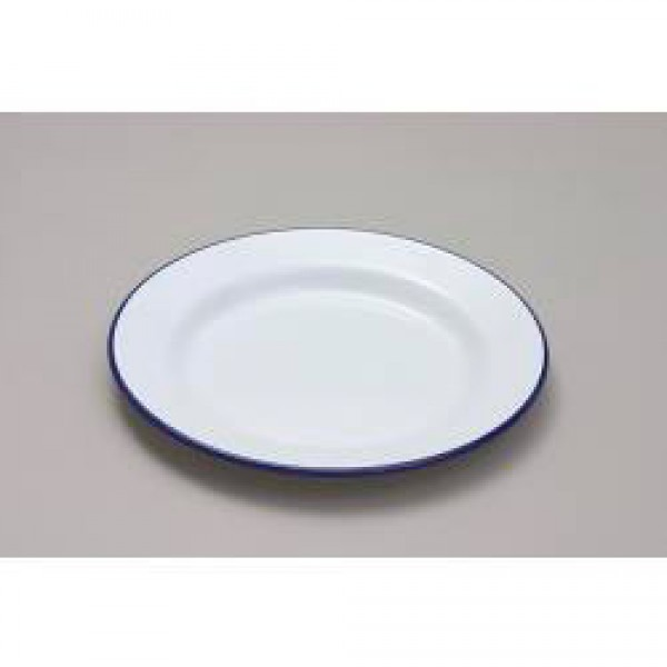 Falcon Enamel 20cm Round Dinner/Pie Plate - Oven Safe