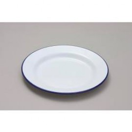 Falcon Enamel 24cm Round Dinner/Pie Plate - Oven Safe