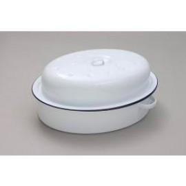 Falcon Enamel 30cm Oval Roaster/Casserole Dish