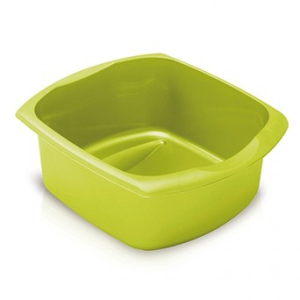 Addis Lime 9.5Ltr Large Rectangular Washing Up Bowl