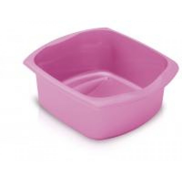 Addis Pink 9.5Ltr Large  Rectangular Washing Up Bowl