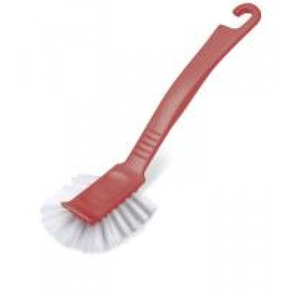 ADDIS Roasted Red Jumbo Dish Brush