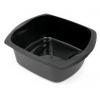 Addis Soft Black 9.5Ltr Large Rectangular Washing Up Bowl