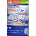 PackMate Flat Vacuum Storage Bags 2 x Jumbo Storage Bags 90m x 110cm