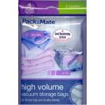 PackMate High Volume Vacuum Storage Bags 2 x Jumbo Storage Bags 90cm x 110cm x 44cm