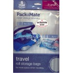 PackMate Travel Rolls 2 x Large Roll Storage Bags 50cm x 70cm
