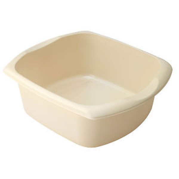 Addis Linen 9.5Ltr Linen Rectangular Washing Up Bowl