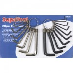 SupaTool 20pc Combination Hex Key Set